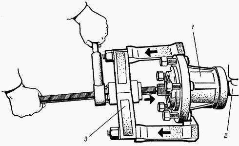 Ступица переднего колеса трактора МТЗ-80